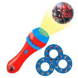 Spiderman - Lampe-torche avec projections - Lexibook