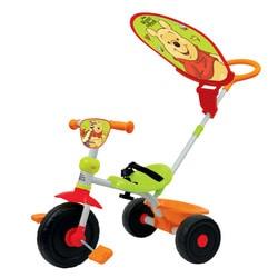 Tricycle Winnie l'Ourson avec parasol