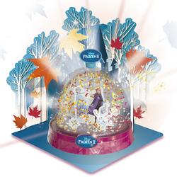 Ma boule à paillettes lumineuse - Disney La Reine des neiges 2