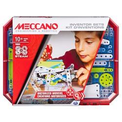 Meccano-Kit d'inventions Créations Motorisées