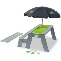 Table sable et eau Aksent avec banc et parasol