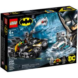 76118-LEGO® DC Comics Super Heroes Mr. Freeze contre le Batcycle