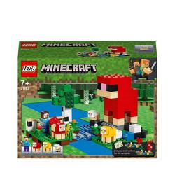 21153-LEGO® Minecraft La ferme à laine