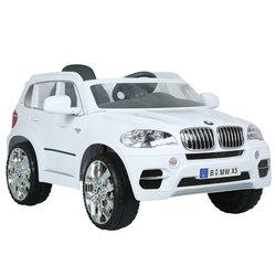 Voiture électrique BMW X5 SUV 6V blanche