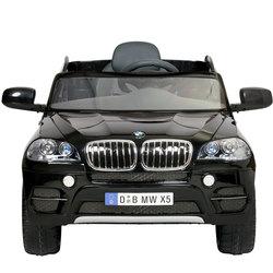 Véhicule électrique BMW X5 SUV 6V noir avec télécommande