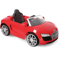 Voiture électrique Audi R8 6V rouge EZ