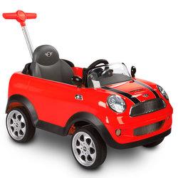 Porteur Mini 2 en 1 rouge