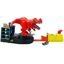 Hot Wheels City-T-rex en furie