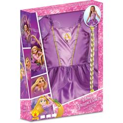 Déguisement Raiponce avec tresse 5-6 ans - Disney Princesses