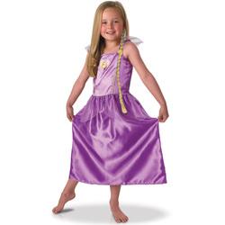 Déguisement Raiponce avec tresse 7-8 ans - Disney Princesse