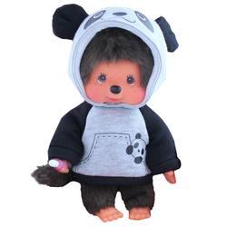 Peluche Monchhichi Panda 20 cm