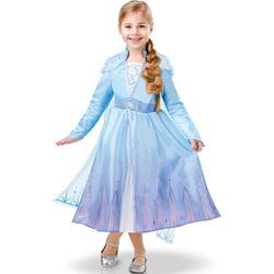 Déguisement luxe Elsa La Reine des Neiges 2 3/4 ans