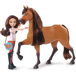 Coffret Spirit cheval deluxe et poupée 29 cm