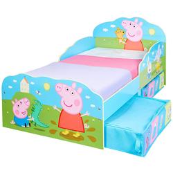 Lit pour enfants Peppa Pig avec espace de rangement