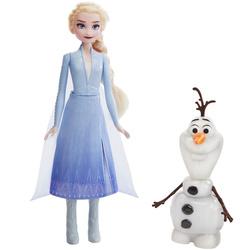 Poupées interactives Elsa et Olaf Disney La Reine des neiges 2