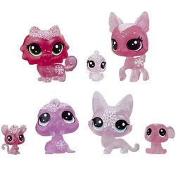 Coffret 7 figurines Collection givrée - Littlest Pet Shop