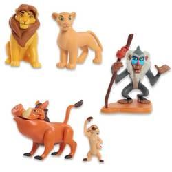 Disney Le Roi Lion - Coffret 5 figurines