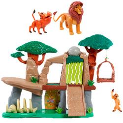 Disney Le Roi Lion - Set de jeu La Terre des Lions