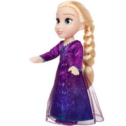 Poupée chantante Elsa 38 cm en robe violette Disney La Reine des Neiges 2