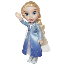 Poupée chantante Elsa 38 cm en robe bleue La Reine des Neiges 2