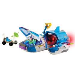 Figurine Buzz l'Eclair 17 cm et son vaisseau spatial - Disney Toy Story 4