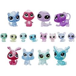 Coffret 16 figurines Collection givrée - Littlest Pet Shop