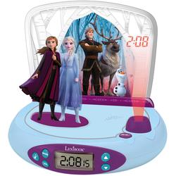 Radio réveil projecteur Lexibook - Disney La Reine des Neiges 2