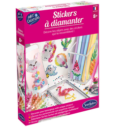 Kit créatif-Stickers à diamanter
