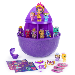 Hatchimals S6-Maxi oeuf surprise les joyaux de la couronne