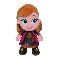 Peluche Anna 25 cm - Disney La Reine des Neiges 2
