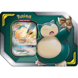 Pokémon - Escouade Evoli et Ronflex 4 boosters