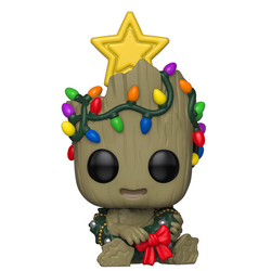 Figurine Groot Holiday 530 Marvel Funko Pop