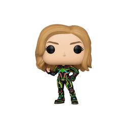 Figurine Captain Marvel Neon Suit 516 Funko Pop