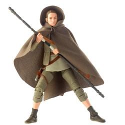 Star Wars Black Series-Figurine Rey Island Journey 15 cm