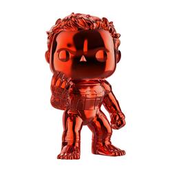 Figurine Hulk chromée rouge 499 Avengers Funko Pop