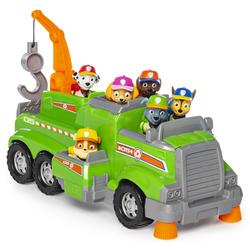 Pat'Patrouille-Camion de recyclage de Rocky total team rescue