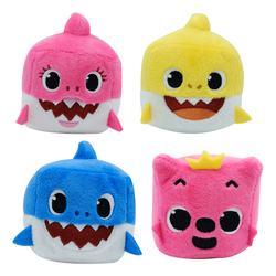 Peluche sonore cube Baby Shark