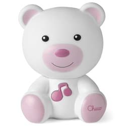 Veilleuse musicale dreamlight ours rose