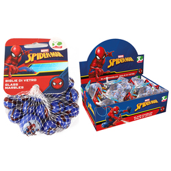 Filet 20 billes et 1 calot - Spiderman