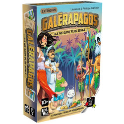 Extension Galérapagos tribu et personnages