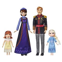 Poupées Pack Famille de Elsa et Anna Disney La Reine des Neiges 2