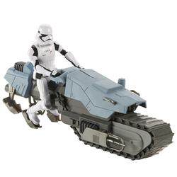 Figurine Stormtrooper et sa moto Star Wars 9 27 cm