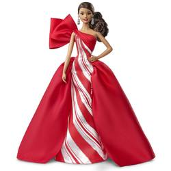 Poupée Barbie Noël 2019 brune