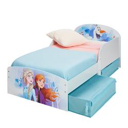 Lit enfant avec rangements Disney La Reine des Neiges 2