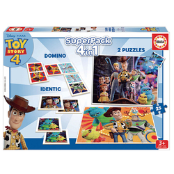 Coffret Superpack 4 en 1 Toy Story 4
