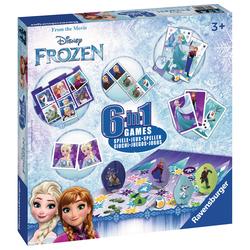 Coffret 6 jeux La Reine des Neiges 2