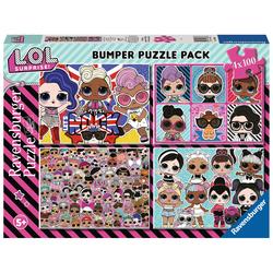 Puzzles 100 pièces LOL Surprise