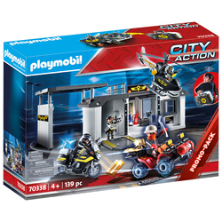 70338 - Playmobil City Action - QG des policiers d'élite transportable