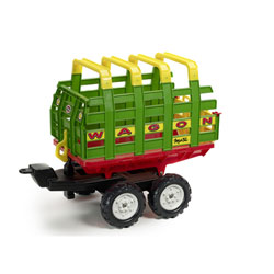 Remorque Wagon Maxi 4 roues
