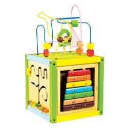 Cube d'éveil 5 jeux